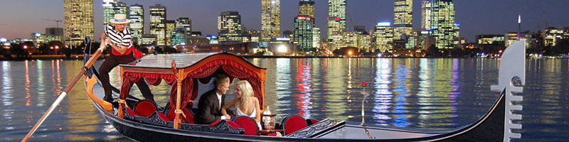 Holiday Inn Perth City Centre - What's On this Valentine's Day - Gondolas on the Swan