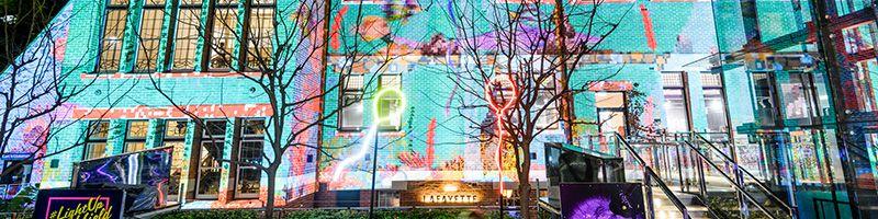 Holiday Inn Perth - Winter 2019 - Winter Lights at Brookfield Place Installation