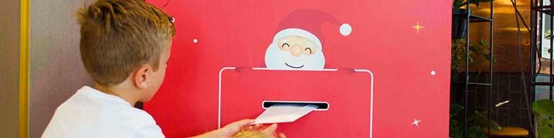 Holiday Inn Perth City Centre - Perth Christmas 2019 - Santa Mailbox