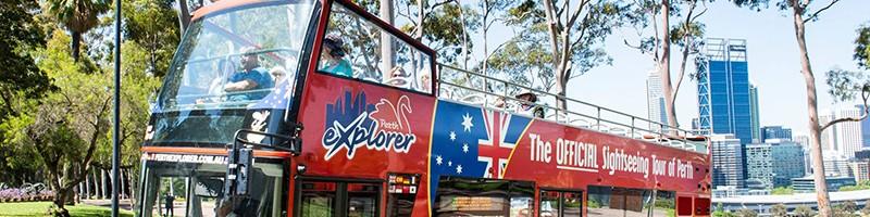 Holiday Inn Perth City Centre - Perth Tours - Explore - Perth Explorer bus tours