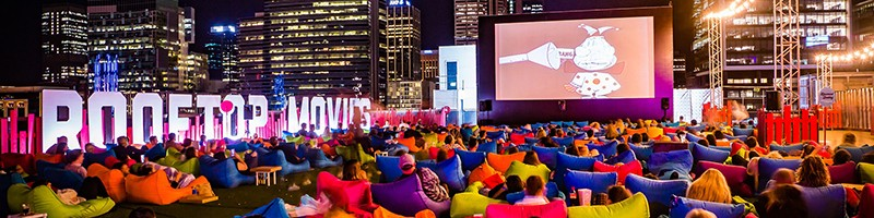 Holiday Inn Perth City Centre - What's on this summer - Rooftop Cinemas