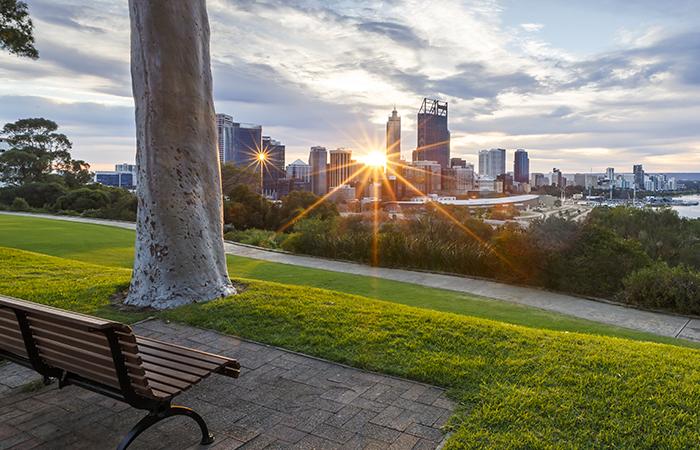 Kings Park Sunrise Holiday Inn Perth